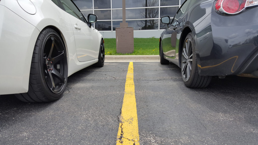 MPmoto FRS vs. Stock wheels/tires/suspension