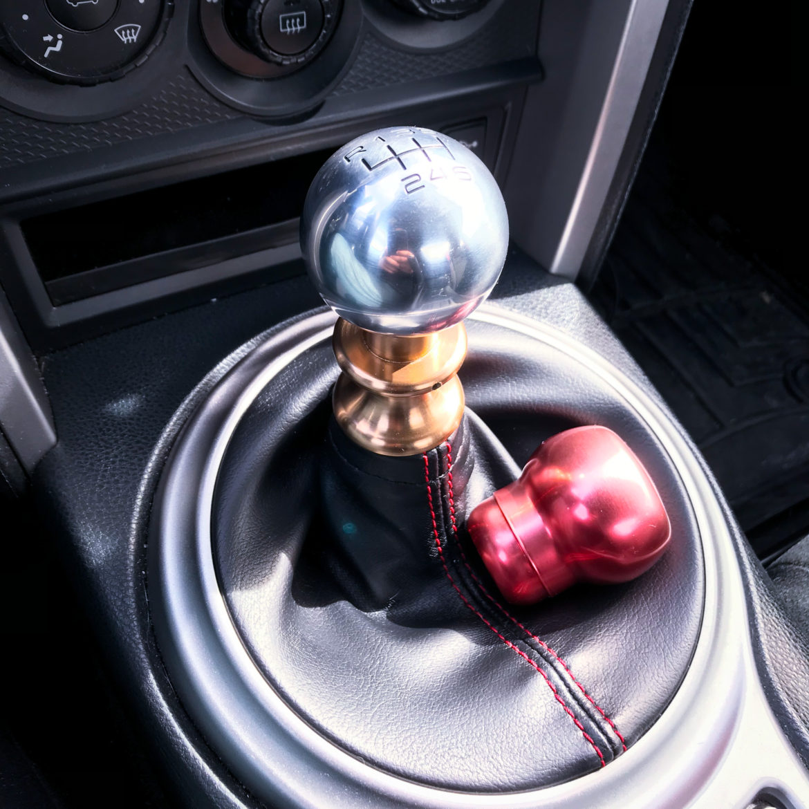 Modern Billet Shift Knob vs. BLOX Racing Shift Knob