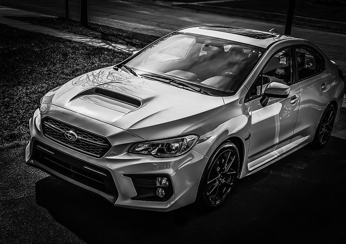 2020 Subaru WRX Premium front 3/4