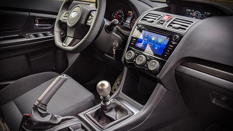 2020 WRX Premium Interior