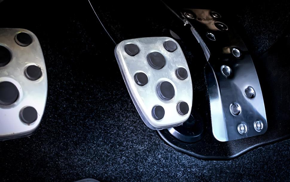 Subaru WRX Pedals